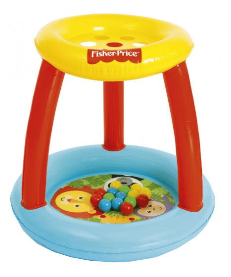 a photo of the product: Fisher-Price opblaasbare ballenbak junior 89 x 84 cm 16-delig