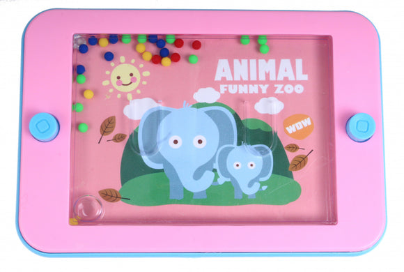 a photo of the product: Free and Easy waterspelletje Olifant junior 12 x 6 cm roze