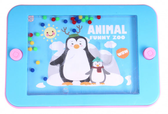 a photo of the product: Free and Easy waterspelletje Pinguin junior 12 x 6 cm blauw