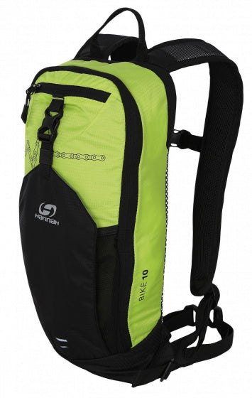 a photo of the product: Hannah rugzak Bike 10 liter polyester groen/antraciet 2-delig