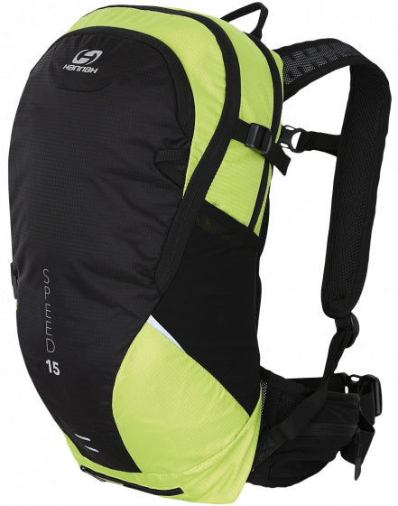a photo of the product: Hannah rugzak Speed 15 liter polyester groen/antraciet
