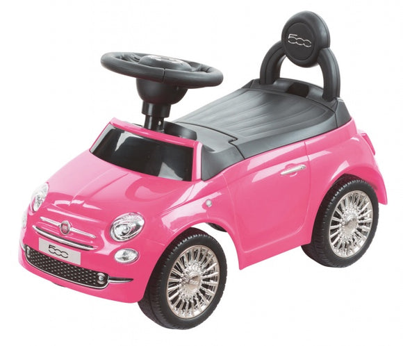 a photo of the product: Happy Baby loopauto Fiat 500 roze