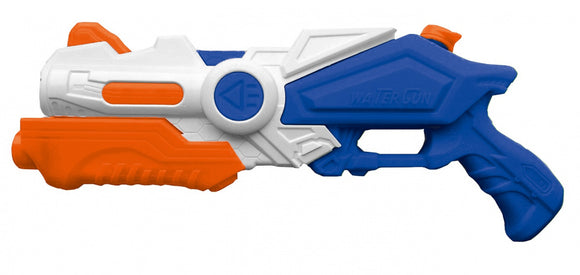 a photo of the product: Happy People waterpistool junior 41 cm wit/blauw/oranje