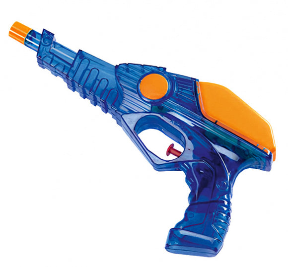 a photo of the product: Happy People waterpistool laser junior 25 cm blauw/oranje