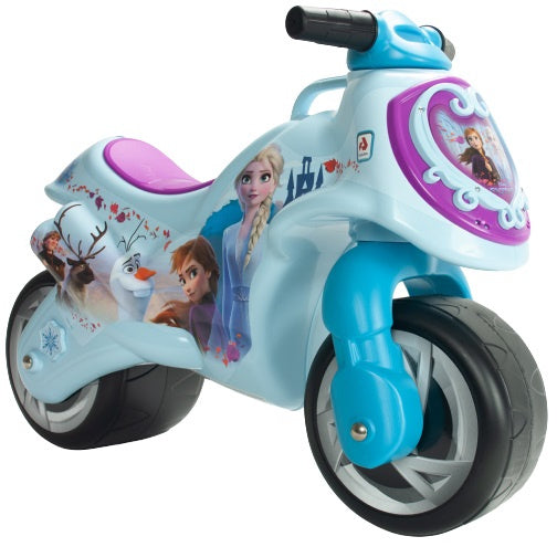 a photo of the product: Injusa loopmotor Neox Frozen II meisjes 69 cm blauw/paars