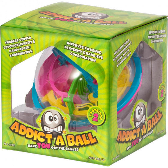 a photo of the product: Invento addict-A-Ball 14 cm plastic groen