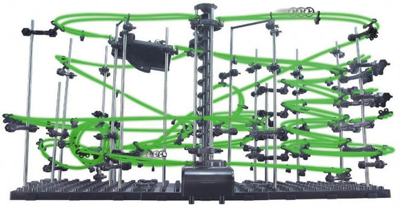 a photo of the product: Invento knikkerbaan Star Coaster Level 4 groen 502-delig