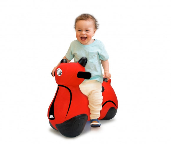 a photo of the product: Jamara stuiterscooter 50 cm rood
