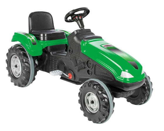 a photo of the product: Jamara traptractor Big Wheel junior 114 x 53,5 cm groen/zwart