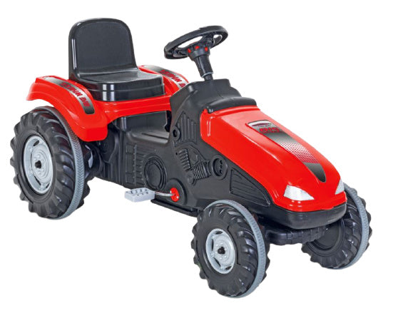 a photo of the product: Jamara traptractor Big Wheel junior 114 x 53,5 cm rood