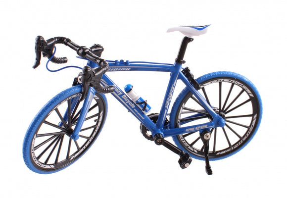 a photo of the product: Johntoy miniatuur model racefiets die-cast 18 x 5 x 10 cm 1:10 blauw