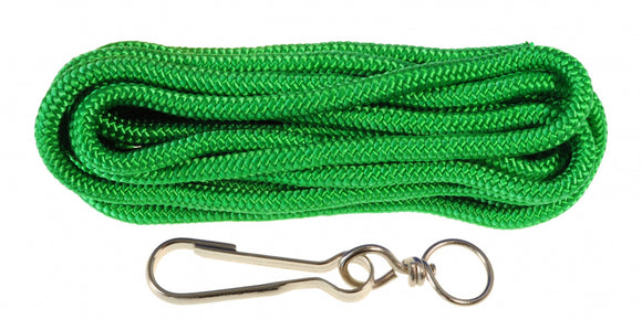 a photo of the product: Kids At Work springtouw junior 5 meter nylon groen