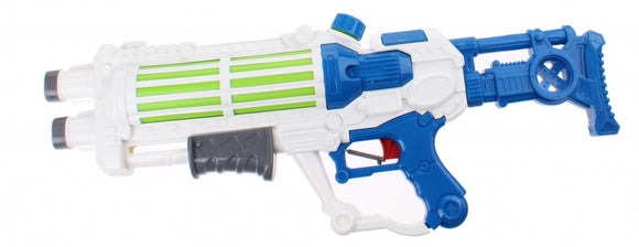 a photo of the product: Kids Fun waterpistool Space 58 cm wit/blauw