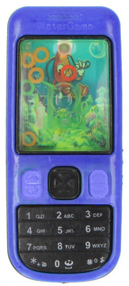 a photo of the product: LG-Imports telefoon met waterspel junior 10,5 cm blauw