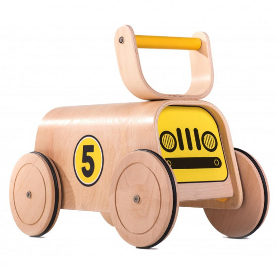 a photo of the product: Mamatoyz loopwagen Racer Walker junior 40 x 42 cm hout naturel