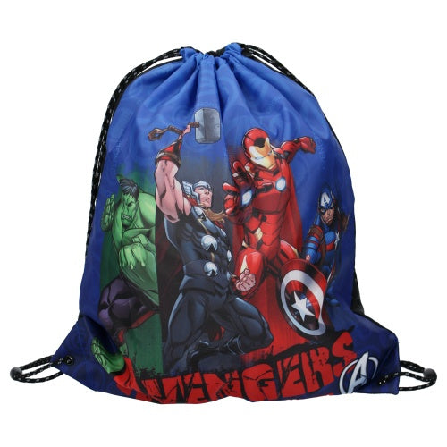a photo of the product: Marvel gymtas The Avengers Armor Up! 5 liter polyester blauw