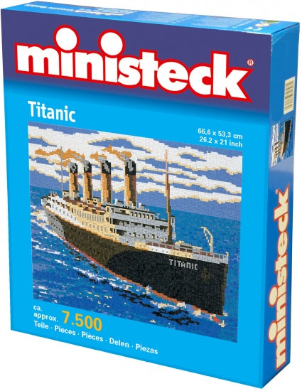 a photo of the product: Ministeck Titanic 7500 delig
