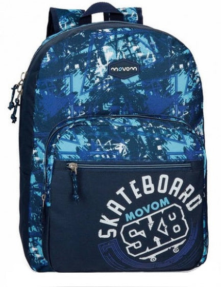 a photo of the product: Movem rugzak Underground junior 18 liter 42 cm polyester blauw