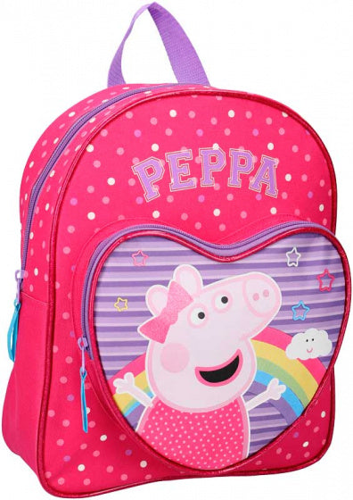a photo of the product: Nickelodeon rugzak Peppa Pig hart 7 liter polyester roze/paars