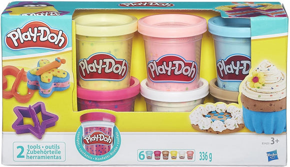 a photo of the product: Play-Doh kleiset Confetti Doh 8-delig 336 gram