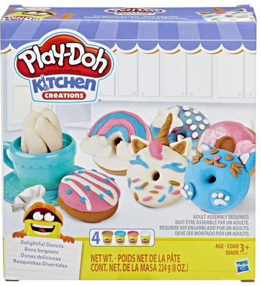 a photo of the product: Play-Doh kleiset Kitchen Creations Donuts 13-delig