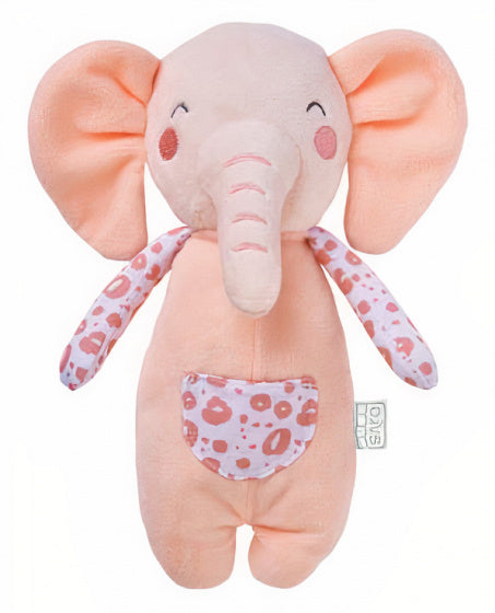 a photo of the product: Saro knuffel olifant Wild Colors junior polyester zalmroze