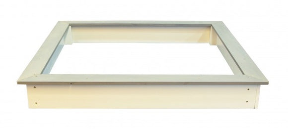 a photo of the product: Sunny Sandy zandbak 127 cm grijs