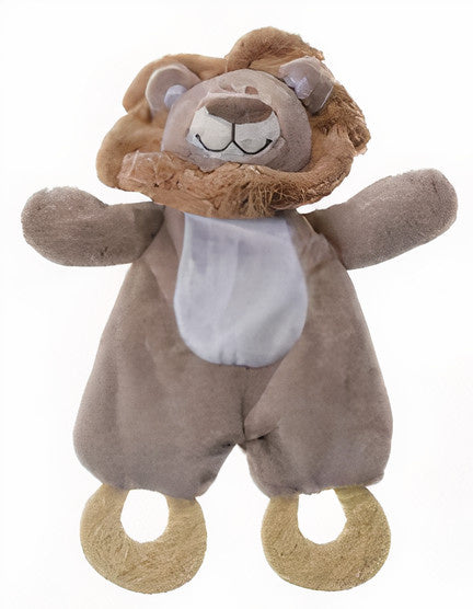 a photo of the product: Tender Toys knuffel Leeuw junior 25 cm pluche bruin