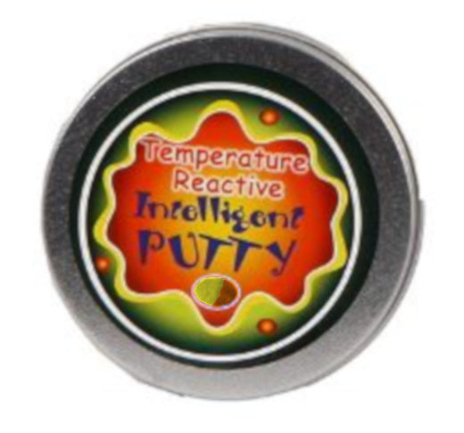a photo of the product: TOM klei Intelligent Putty junior 8,4 cm geel/oranje