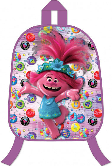a photo of the product: Trolls rugzak 3D meisjes 25 liter polyester paars/roze