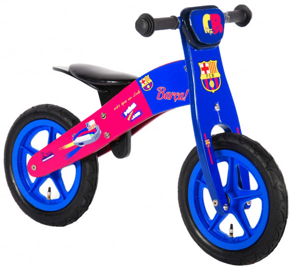 a photo of the product: Volare FC Barcelona 12 Inch Jongens Blauw/Rood