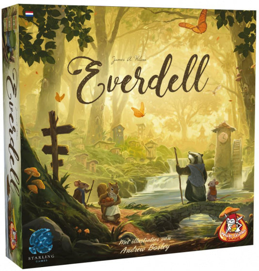 a photo of the product: White Goblin Games bordspel Everdell (NL)