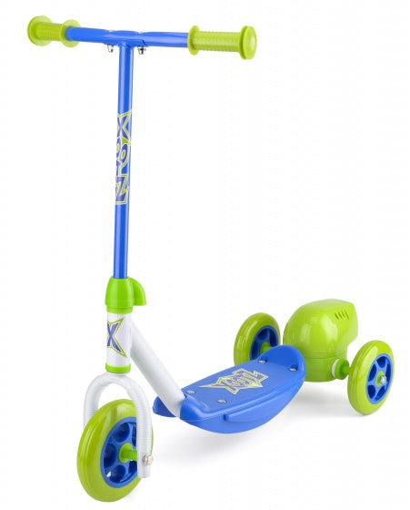 a photo of the product: Xootz Bubble Scooter Jongens Voetrem Groen/Blauw