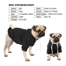 Load image into Gallery viewer, Personalized Dog Hoodie | Print-on-demand Pet Hoodie