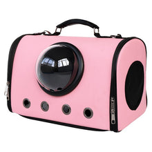 Load image into Gallery viewer, astronaut capsule design pet carrier pink