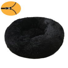 Load image into Gallery viewer, Donut Cuddler Dog Bed / Removable Cover Round Calming Cat Beds Pet House Kennel Pillow Washable Lounger for Small Large Dog Cats