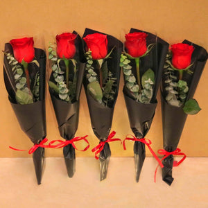 Valentine's Day Single Roses