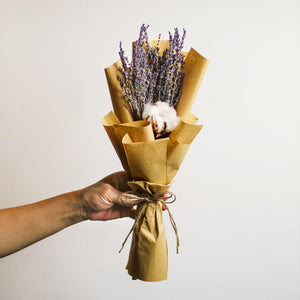 Preserved Cotton Flower Bouquets
