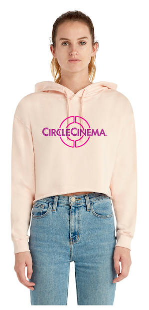 Circle Cinema circle design Crop Hoodie