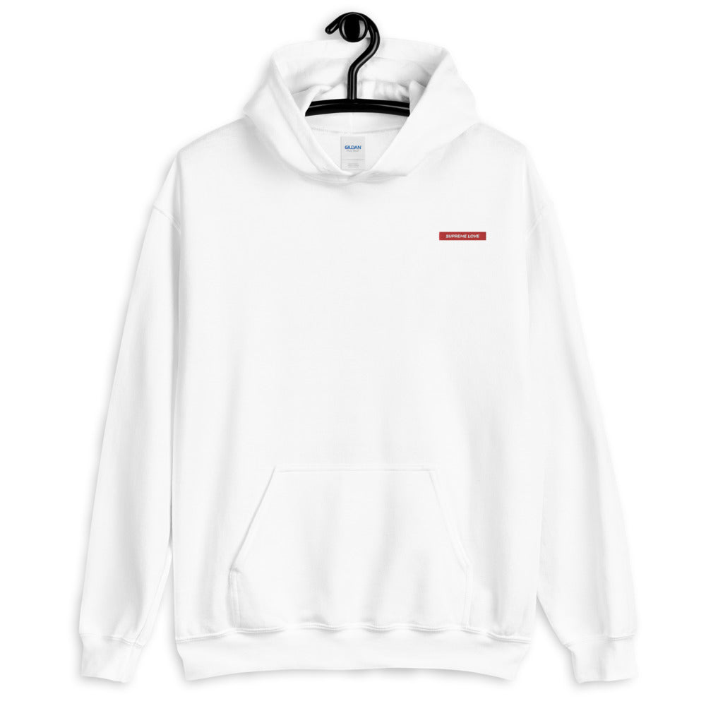 Supreme Love Embroidered Hoodie