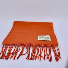 Load image into Gallery viewer, Cashmere scarf - orange
