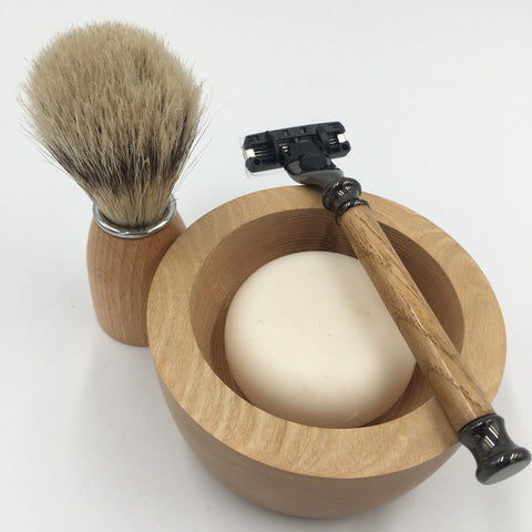 Joseph Chance Shaving Set Bowl Brush Soap Razor