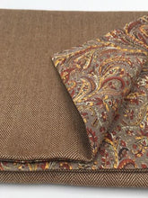 Load image into Gallery viewer, Joseph Chance Superfine Herringbone with Liberty of London  Paisley Reversal