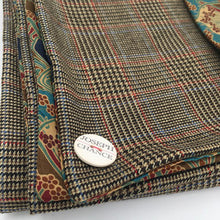 Load image into Gallery viewer, Joseph Chance Superfine Classic Tweed with Liberty of London 'Ianthe' Reversal