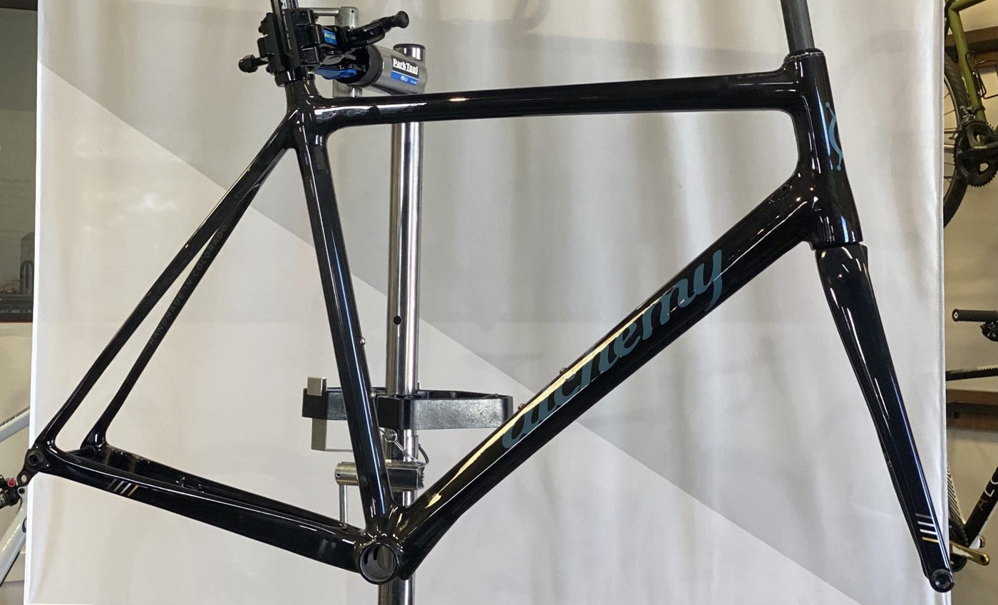 61cm Atlas Frame Smoke with Blue Logo