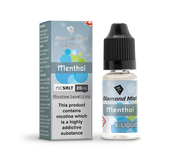 Diamond Mist Menthol 10ml Nic Salt
