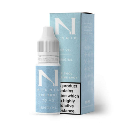 Nic Nic ICE Nicotine Shot 70VG 10ml
