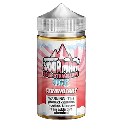 Sour Man Strawberry Ice 200ml