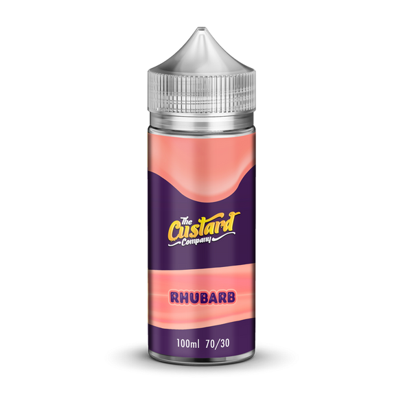 The Custard Company Rhubarb 100ml