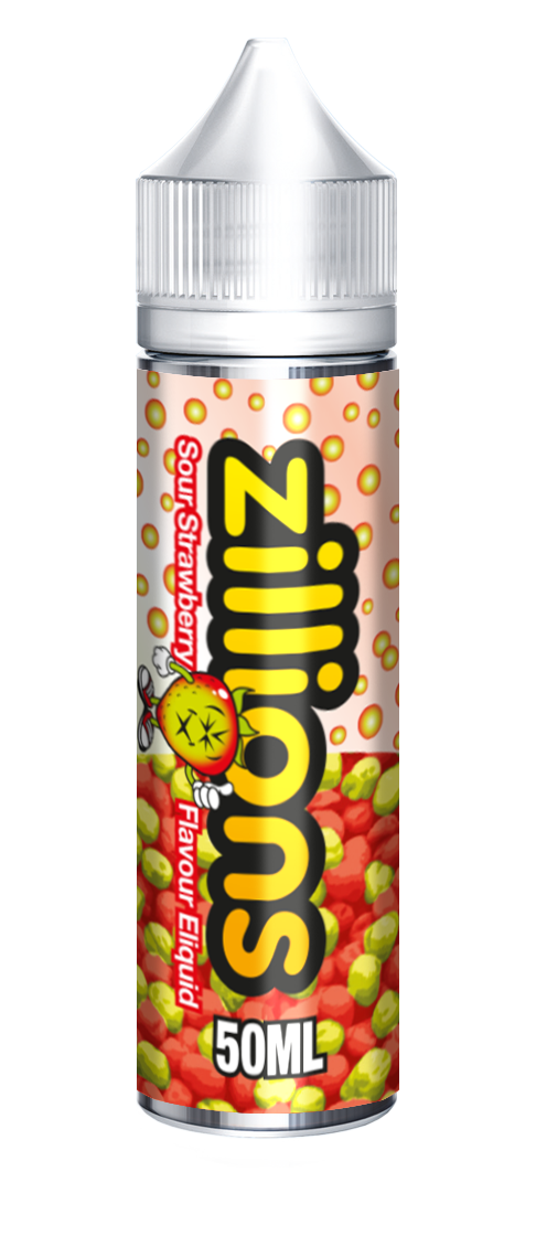 Zillions Sour Strawberry 50ml